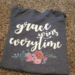 Grace Wins Everytime Shirt